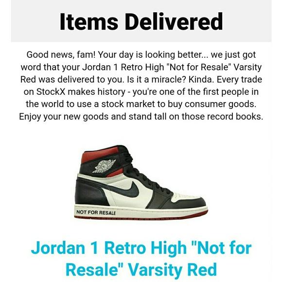 ce588c18 Jordan Shoes | Air 1 Not For Resale Already Sold | Poshmark